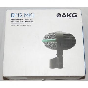 Custom AKG D-112 D112 MkII Dynamic Bass/Kick Drum Microphone - Exc in Orig Box!