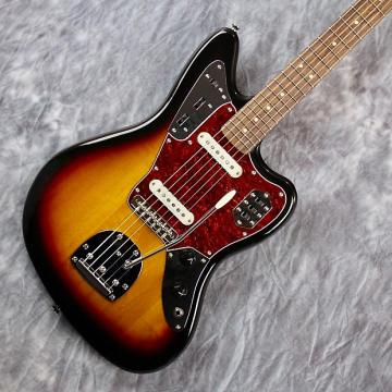 Custom Squier by Fender Vintage Modified Jaguar In 3-Color Sunburst w/ & Fresh Pro Setup