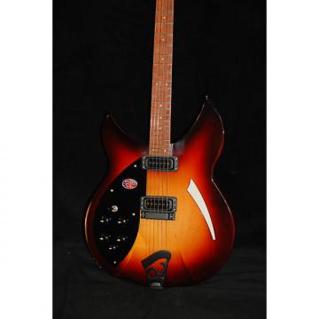 Custom Rickenbacker 330 Left Handed 2016 AMBER MONTEZUMA BROWN
