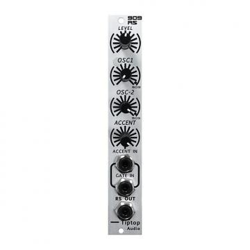 Custom Tiptop Audio RS909 Rimshot (demo) - Eurorack Module