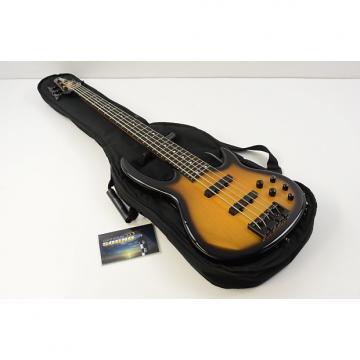 Custom Carvin BB75 Bunny Brunel Signature 5 String Bass Guitar - Sunburst w/Gig Bag