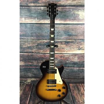 Custom Gibson Les Paul Studio '60s Tribute 2014 Satin Sunburst with Roadrunner hard shell case and strap