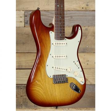 Custom Fender 2009 Deluxe Ash Stratocaster Electric Guitar w/ Case
