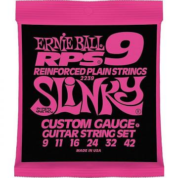 Custom Ernie Ball 2239 RPS Super Slinky Nickel Wound Electric Guitar Strings 9-42