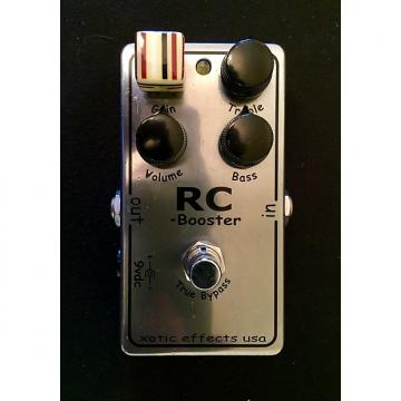 Custom Xotic RC Booster (older limited edition chrome)