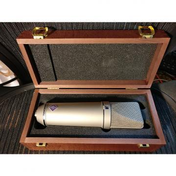 Custom Neumann U87ai Condensor mic with shock mount and box