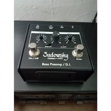 Custom Sadowsky  Bass Preamp/DI  black