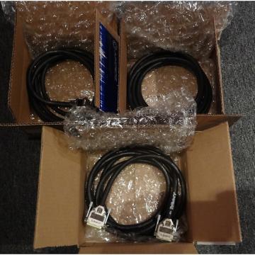 Custom LOT OF (3) Jumperz  D-SUB-Male-to-D-SUB-Male harnesses- MINT