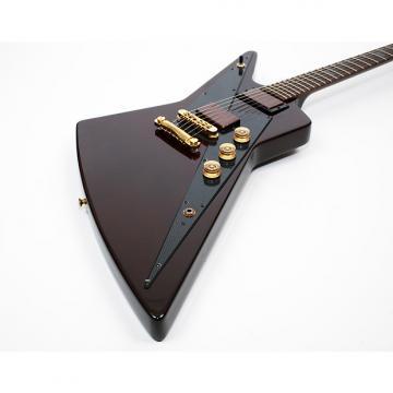 "Custom Gibson Reverse Explorer ""Guitar of the Month"" 2008 w/OHSC Plastic still on pickguard"