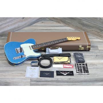 Custom Fender Telecaster '60 Reissue Relic Cusotm Shop 2016 Aged Blue Sparkle