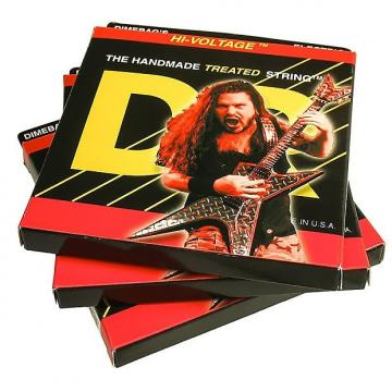 Custom 3 Sets DR Strings Dimebag Darrell HI-VOLTAGE Electric Guitar Strings 9-42