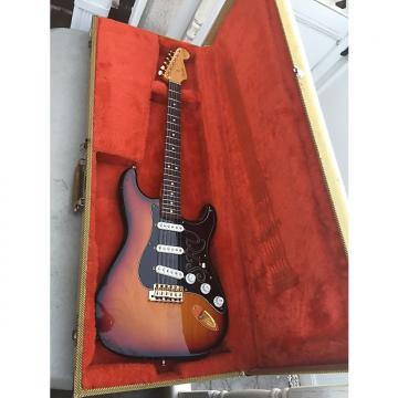 Custom Fender Stevie Ray Vaughan Stratocaster Brazilian Rosewood Fretboard  1992 Three Tone Sunburst