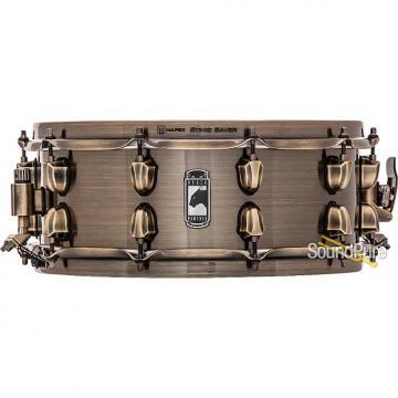 Custom Mapex 5.5x14 Black Panther Brass Cat Snare Drum