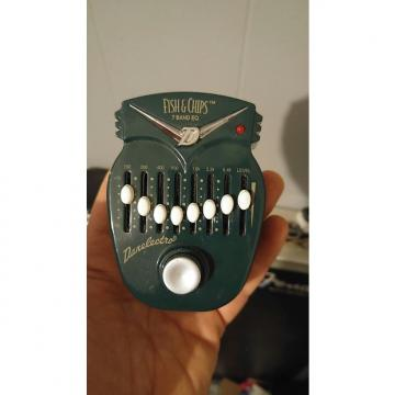 Custom Danelectro Fish N Chips 7 Band Graphic Eq Equalizer pedal
