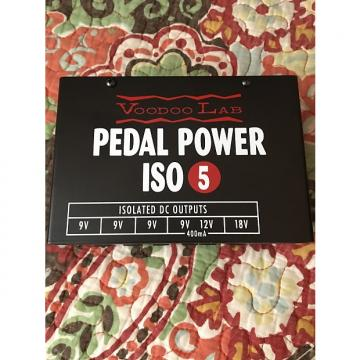 Custom Voodoo Lab Pedal Power ISO 5 2015 Black