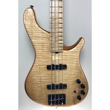"Custom Brubaker NBS-4 ""Lexa"" Flame-Maple Top and Back, Birdseye Fingerboard"
