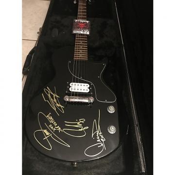 Custom Sepultura signed guitar Epiphone Black