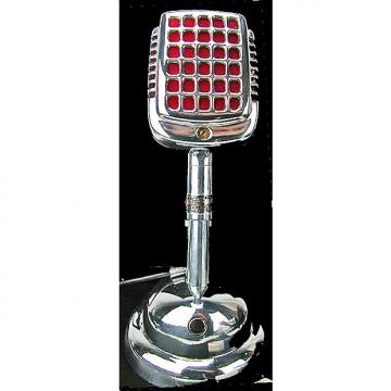 Custom Shure CX60 Monoplex crystal microphone on Shure S36 desk stand; good output; cable included