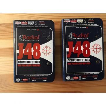 Custom PAIR #2 of Radial J48 Active DI