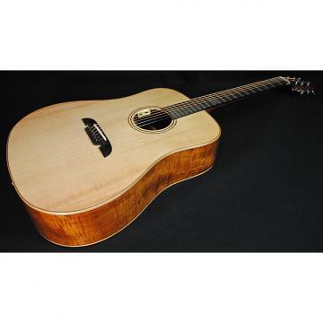 Custom Alvarez AD610EFM Acoustic-Electric Guitar Natural Finish Professionally Set Up!