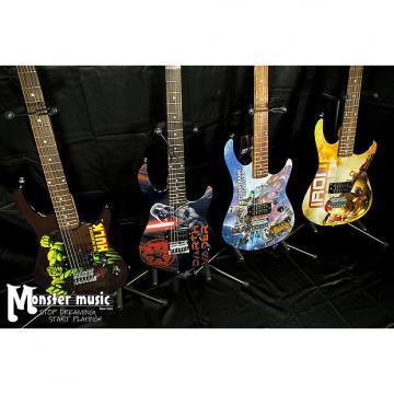Custom Peavey Room full of Marvel Guitars 2016 - you get ALL FOUR guitars here.
