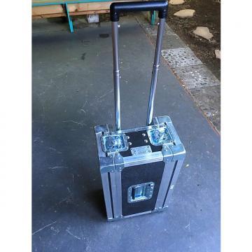 "Custom Carry-On ATA 2U Shock Mount Rack Case in 1/4"" Black ext. dim. (22""Wx9.5""Hx14""D) 2015 Black"