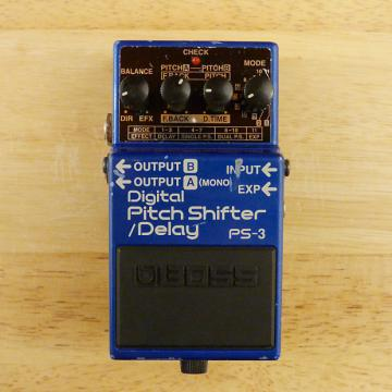 Custom Boss PS-3 Digital Pitch Shifter Delay - Classic Collectible Guitar Effects Pedal - GD to VG Cond.