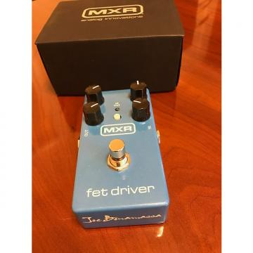 Custom MXR Joe Bonamassa FET Driver Overdrive Blue