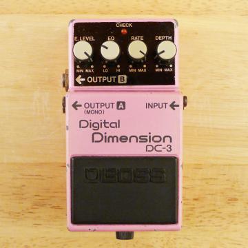 Custom Boss DC-3 Digital Dimension Chorus - Vintage Made In Japan Guitar Effects Pedal - Fair Condition.
