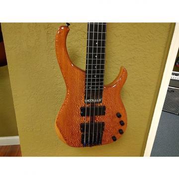 Custom Modulus Quantum Fretless 5-String Electric Bass N/A Lacewood