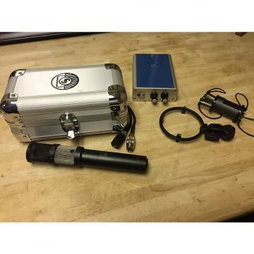 Custom AKG C422 Stereo Condensor Mic and S 42 Remote 1970s Aged Black Satin