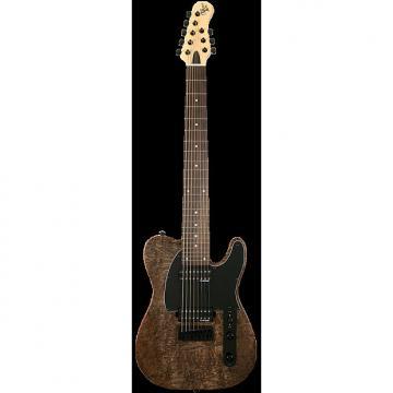 Custom Michael Kelly 508 Black Burl 8-string electric guitar - NEW