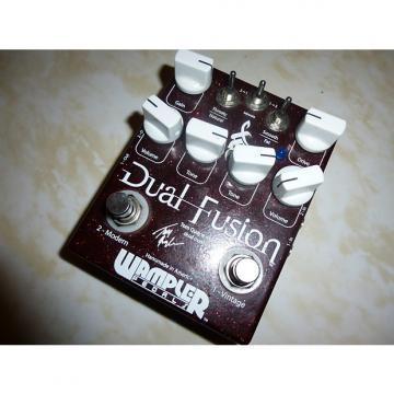 Custom Wampler Dual Fusion Tom Quayle Signature Overdrive