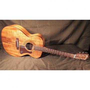 Custom Iseman OM / 000 Koa Guitar - Handmade in Hawaii from 'Fallen' Big Island Koa - USED Custom