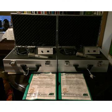 Custom Microtech Gefell UM75 Pair 2003 Serial Numbers 1&2