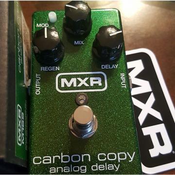 Custom Mxr Carbon Copy Analog Delay  2010s Sparkling Green