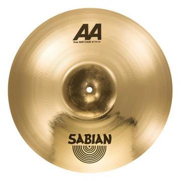"Custom SABIAN 16"" AA Raw Bell Crash Brill Thn"