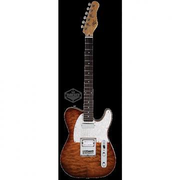 Custom Michael Kelly Mod Shop 1955 Caramel Burst electric guitar NEW - Seymour Duncan pickups