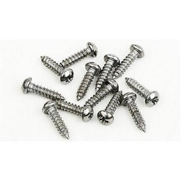 """Custom Fender screws - 3x3/8"""" - Nickel"""