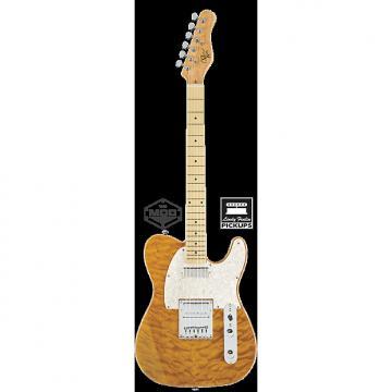 Custom Michael Kelly 1950s series Mod Shop 1955 Amber Trans electric guitar NEW - Lindy Fralin pickups
