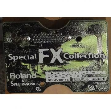 Custom Roland SR-JV-15 Special FX Collection