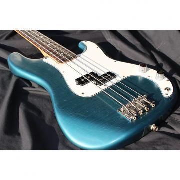 Custom Squier - Medium Scale - Precision Bass - Custom Sherwood Green Relic