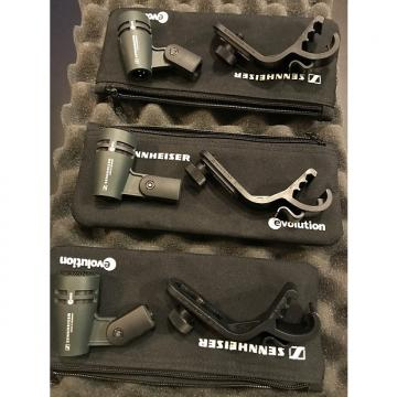 Custom Sennheiser e604 3-Pack Black & Grey