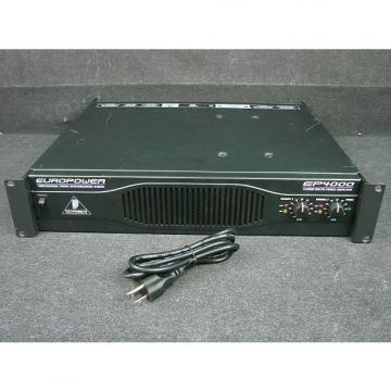 Custom Behringer EP4000 2x2000 Watt Dual Channel Rack Mountable Power Amplifier