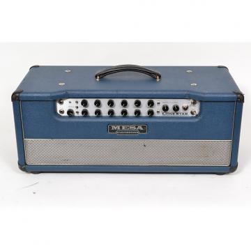 Custom Mesa Boogie Lonestar Classic Head Blue Bronco Tolex