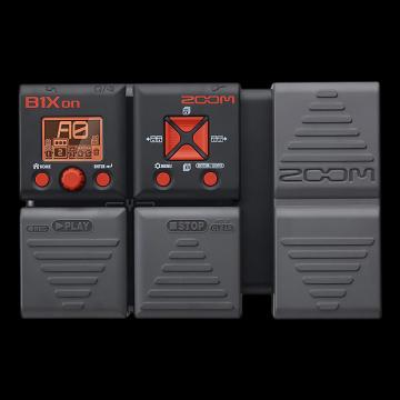 Custom Zoom B1Xon Bass Effects Pedal with Expression Pedal - Repack with 6 Month Alto Music Warranty!