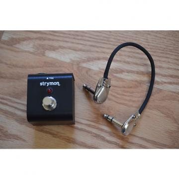 Custom Strymon Tap Favorite Boost Switch w/ TRS Cable Black