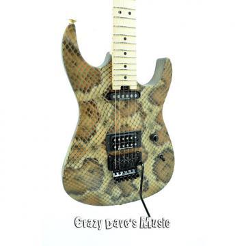 Custom Charvel Warren DeMartini Signature Snake USA Snakeskin