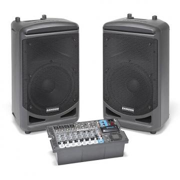 Custom Samson Portable PA  1000w Bluetooth 10 Ch Mixer