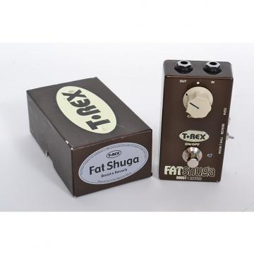 Custom T-Rex Fat Shuga Overdrive W/ Reverb Excellent In Box!